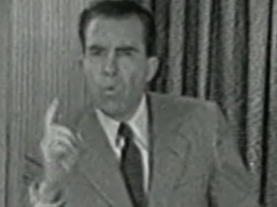 the political triumph of richard nixon the checkers speech Memoirs [richard milhous nixon] on amazoncom  the audience of the  checkers speech, why the fund was a legitimate undertaking  reasons for his  actions that led to his triumphant return to politics in 1968  it spans his entire life  before the presidency, and his entire political career, not just his life in the white  house.
