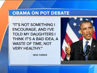 Obama: Pot not 'more dangerous' than alcohol