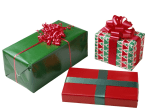 Image: Wrapped gifts