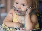 Image: Messy child