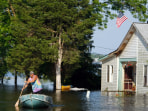 Midwest Flooding Continues To Threaten Towns Along The Mississippi