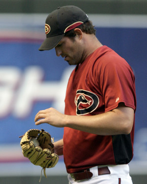 Doug Davis, Pitcher, Arizona Diamondbacks.