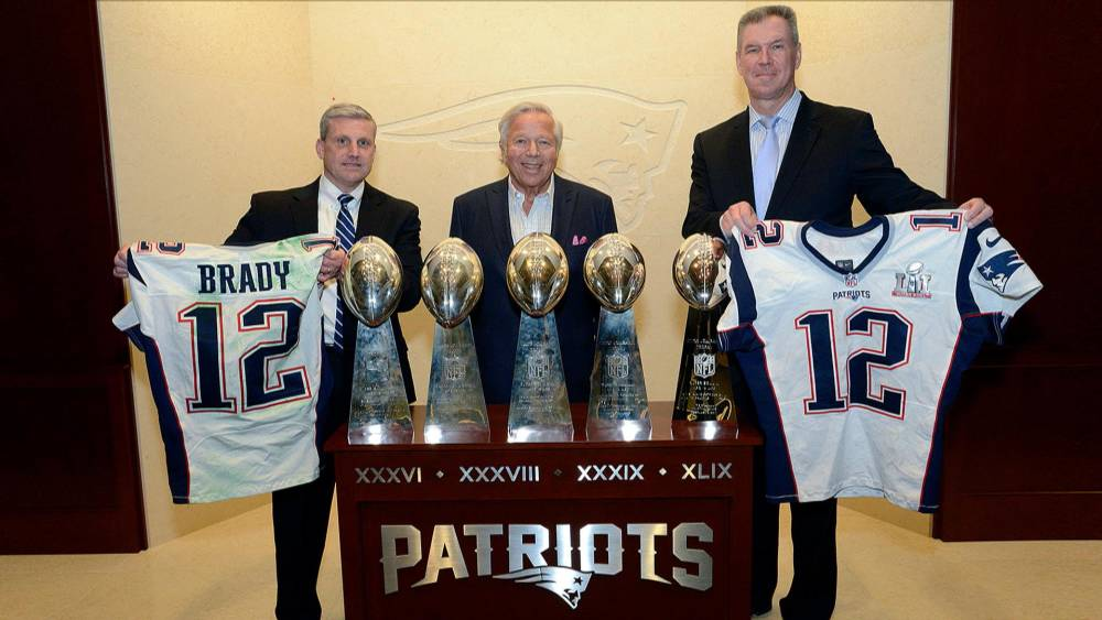 79c23fc45 Tom Brady s Stolen Super Bowl Jerseys Returned to Patriots by FBI