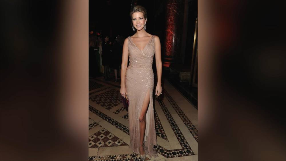 5c3467ee386 Ivanka and Melania Trump s inauguration dresses revealed