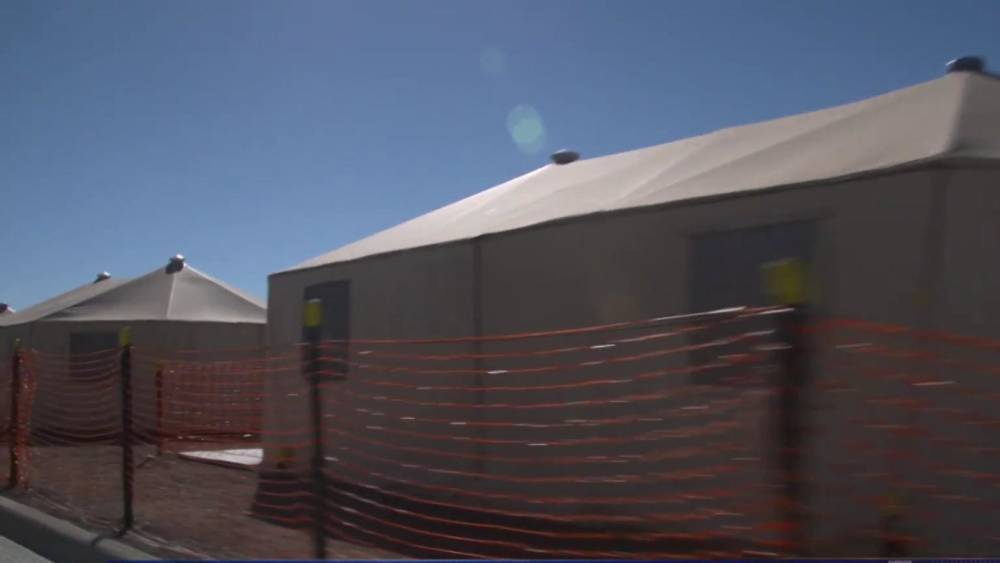& Inside Tornillo: The expanded tent city for migrant children