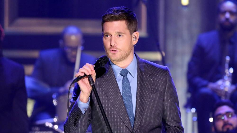 michael bublé is definitely not retiring following son s cancer battle