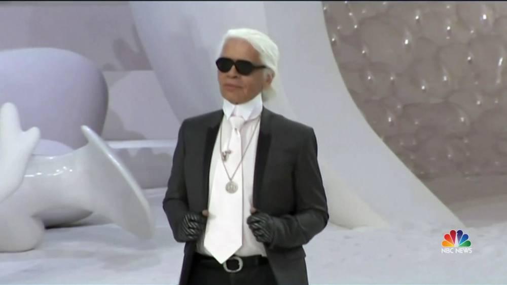 97affe3d63b2 Iconic fashion designer Karl Lagerfeld dies at 85