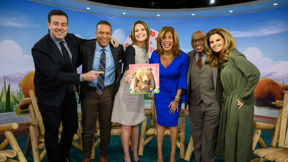 Hoda Kotb Celebrates Release Of New Children S Book You Are My Hy Inspired By Daughter Haley Joy