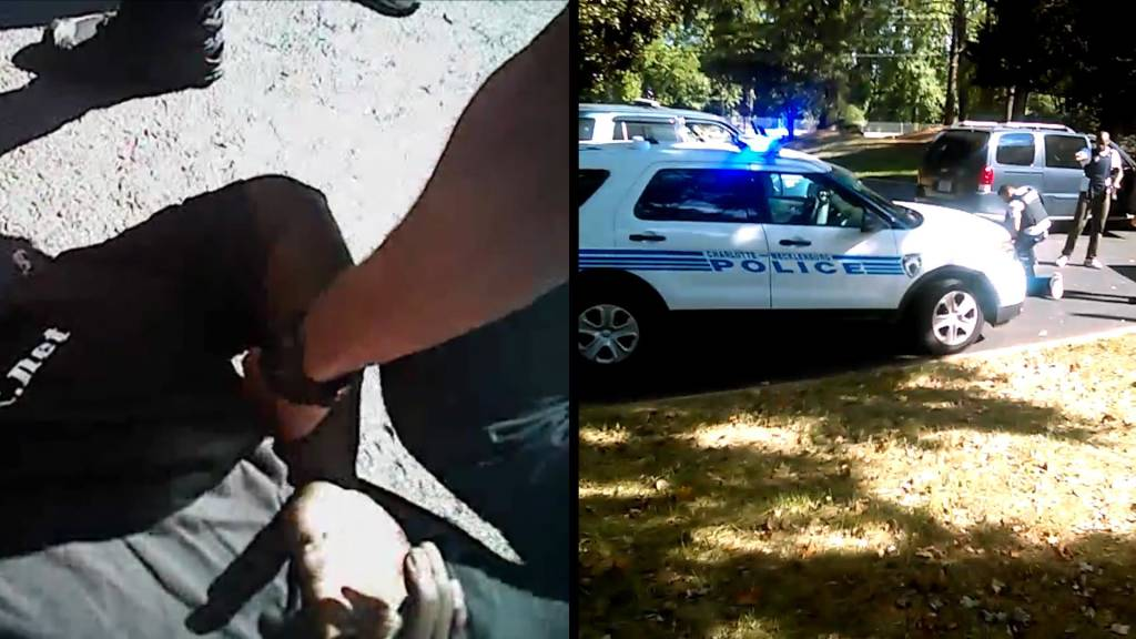 Charlotte Shooting Video: A Side-By-Side Comparison of Keith Scott Fatal  Police Encounter