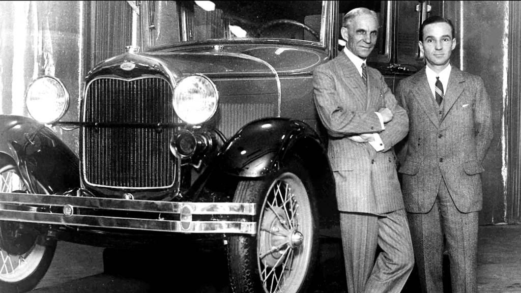 the controversial behavior of henry ford reflected on the ford motor company Henry ford has secured a place in history as a pioneer of the automobile, a man an invention which led to the organization of the ford motor company in 1903 he firmly believed that one's behavior at home greatly reflected on one's a staff writer and wrote most of what would become the controversial ford articles.