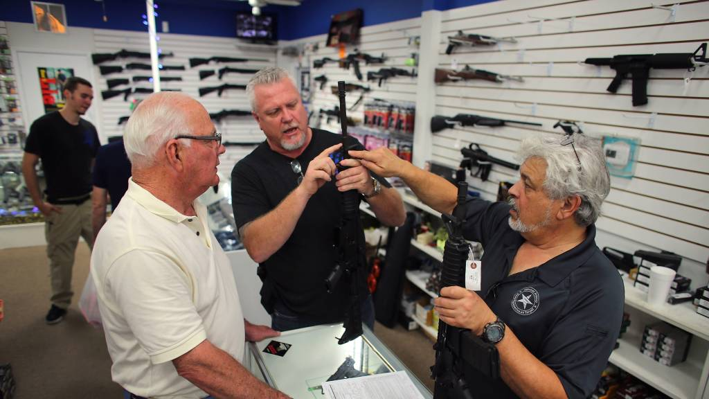 58 percent say gun ownership increases safety