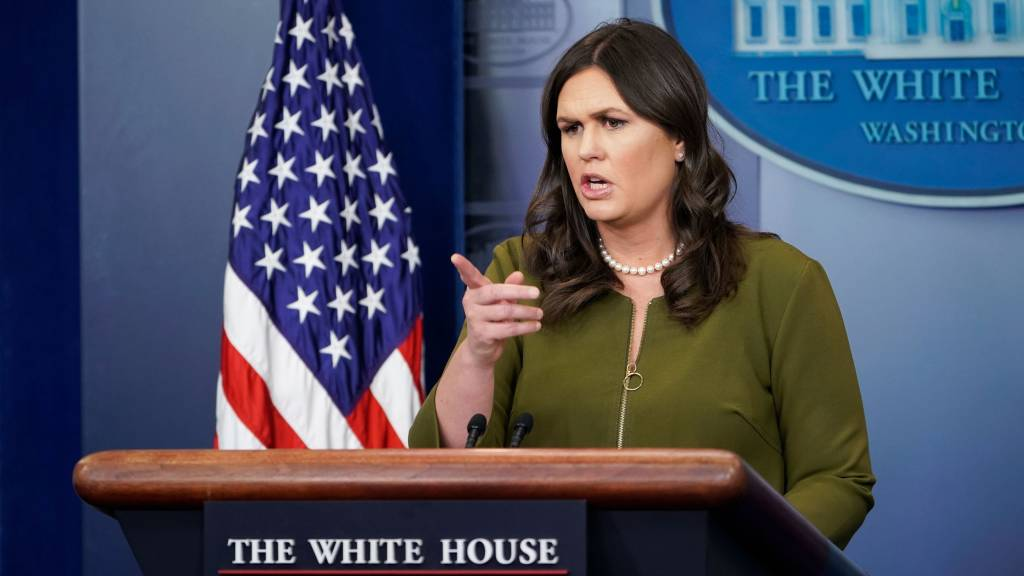 White House defends Trump's caravan 'rapes' remark