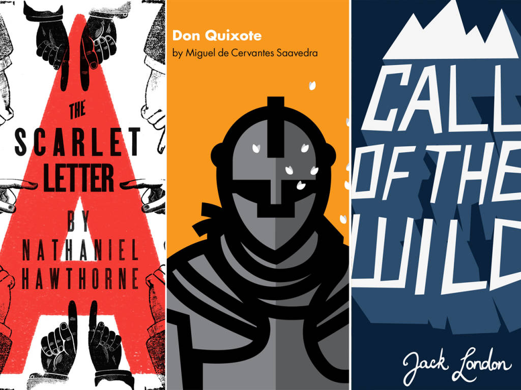 Judge by their covers classic book designs reimagined madrichimfo Choice Image