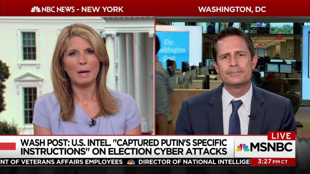 Wapo Us Intel Captured Putins Specific Instructions On 2016 Hack
