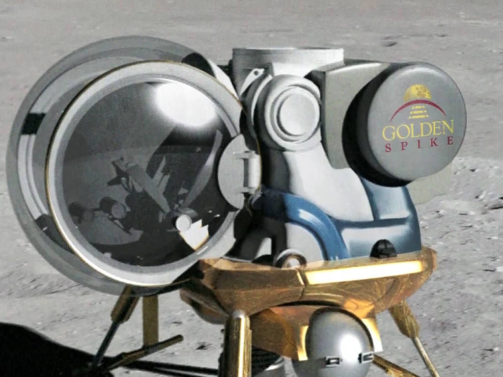 golden spike aims for moonshots