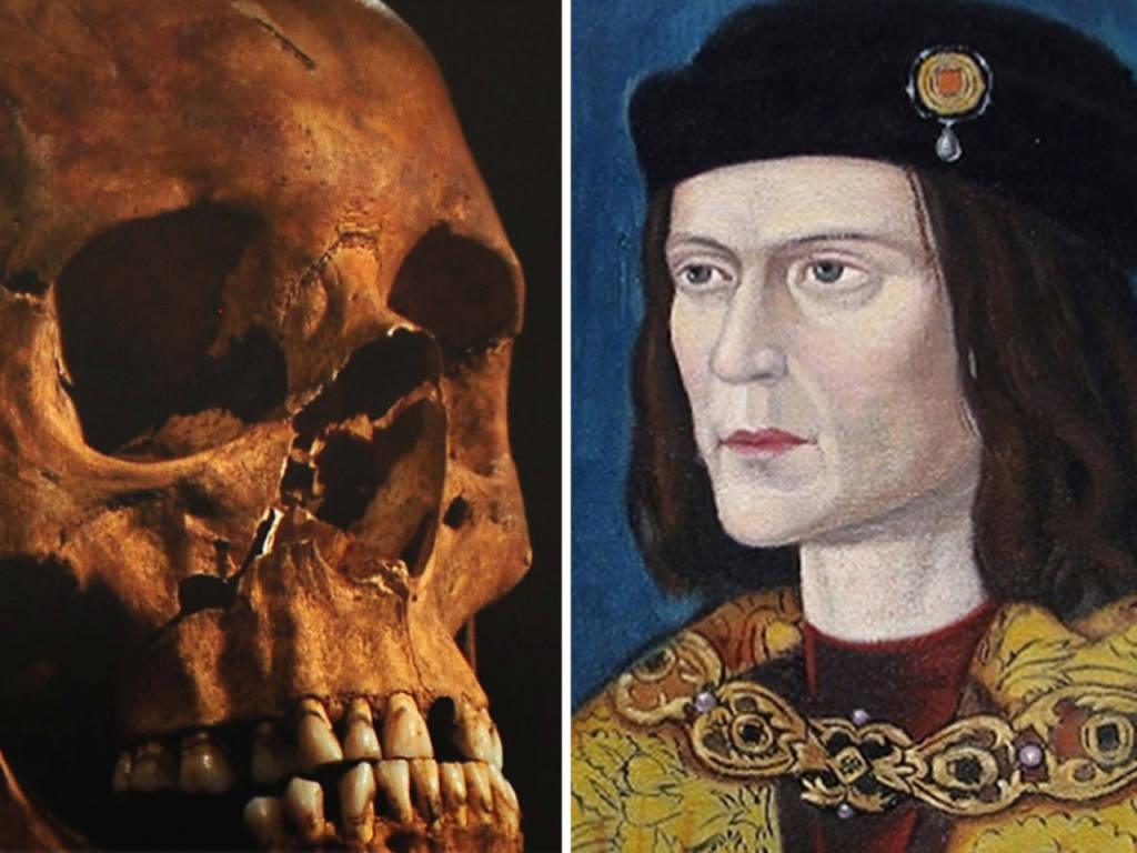 comparison king richard iii and looking richard King richard iii's revised portrait with new golden locks nor will he be knocking on the door of buckingham palace looking for dna samples.