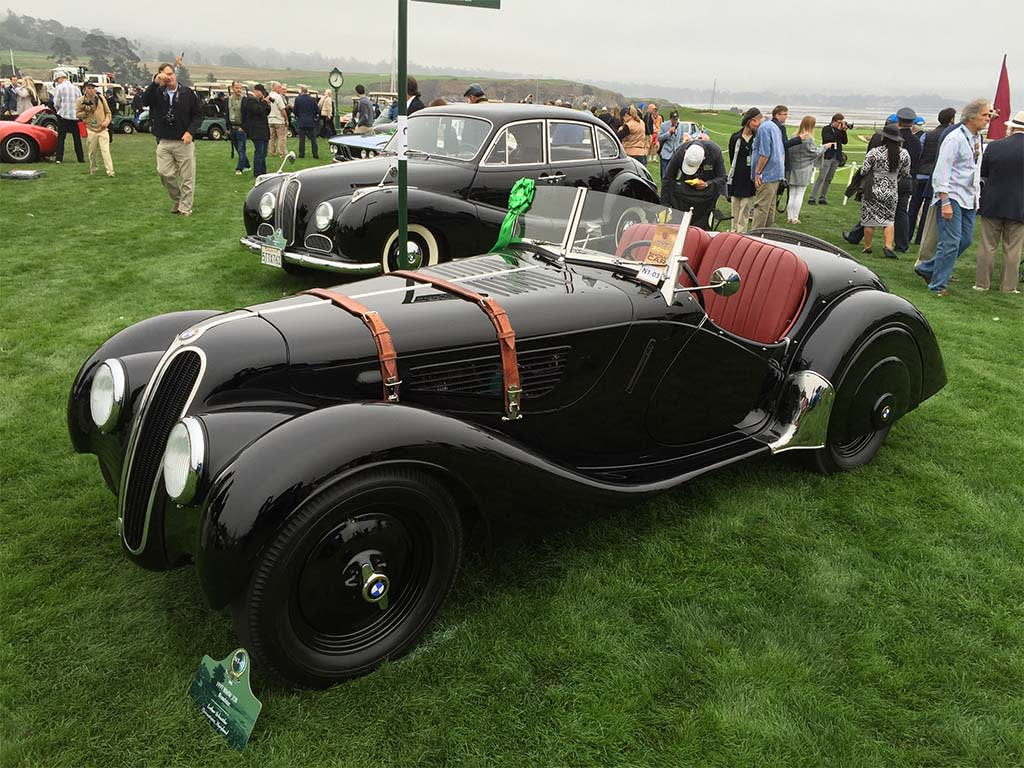 At Pebble Beach\'s Concours d\'Elegance, $500M in Classic Cars on Display
