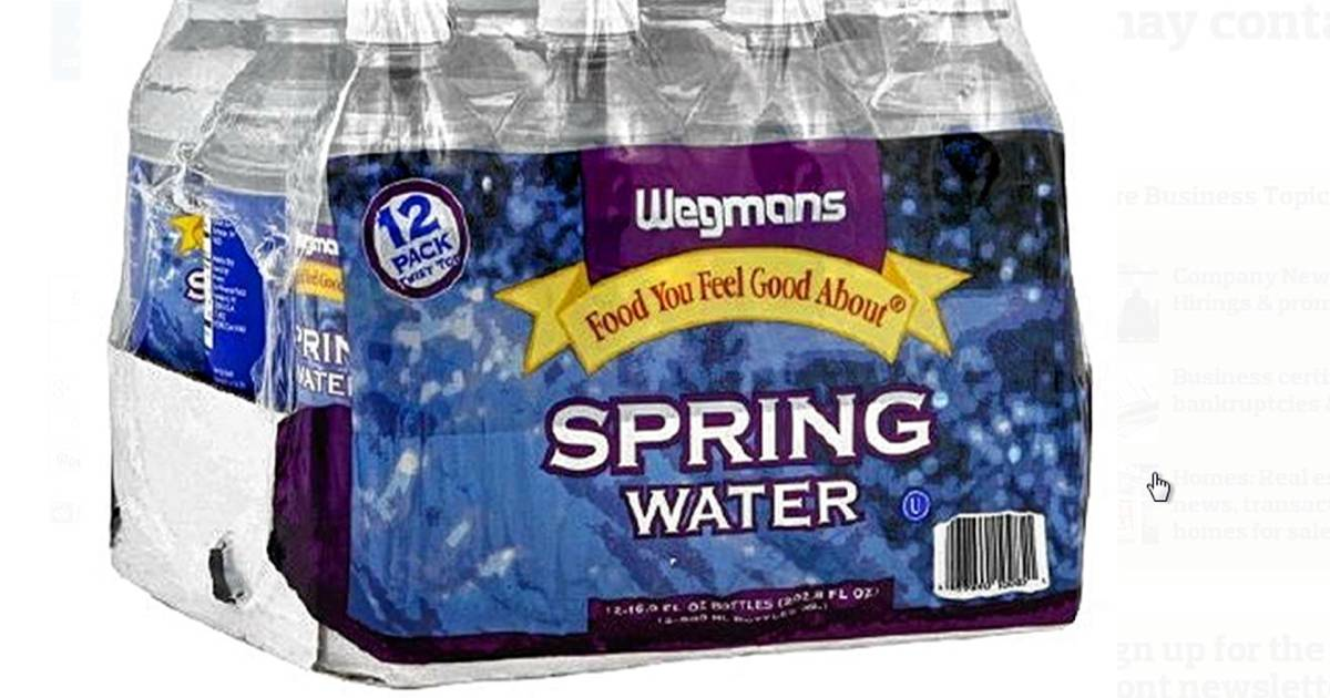 Wegmans recalls bottled water that may contain e coli for Michaels craft store erie pa