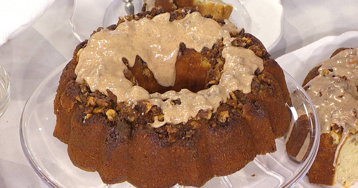 Try this easy coffee cake recipe with a cinnamon-sugar glaze