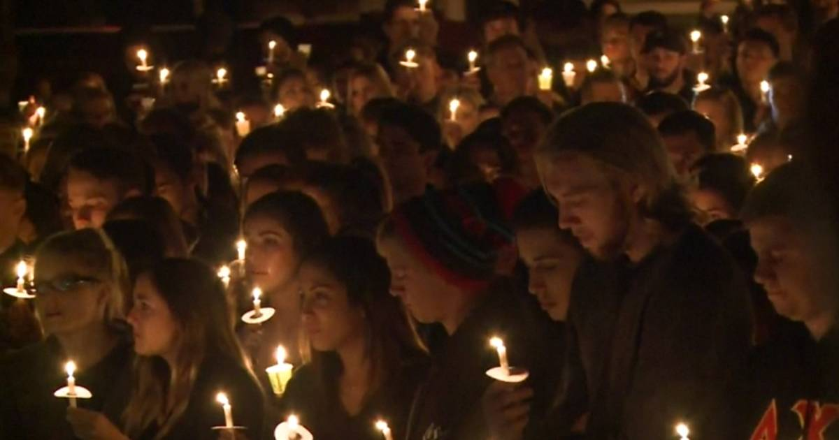 Northern Arizona University Holds Vigil After Shooting