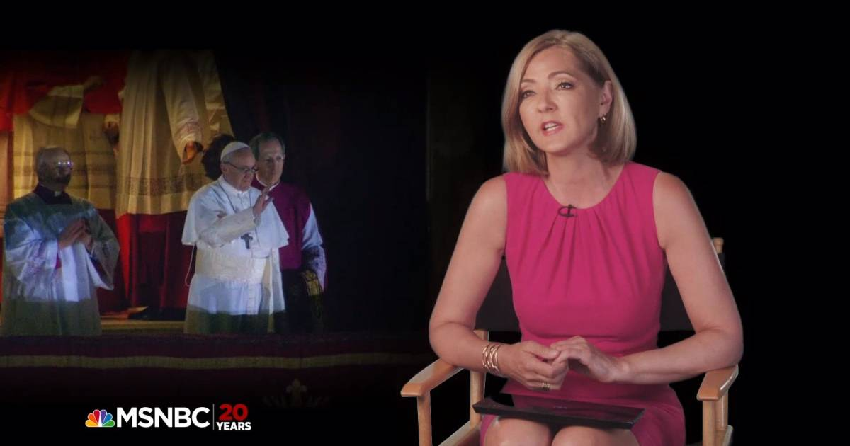 Chris Jansing on Covering the Pope