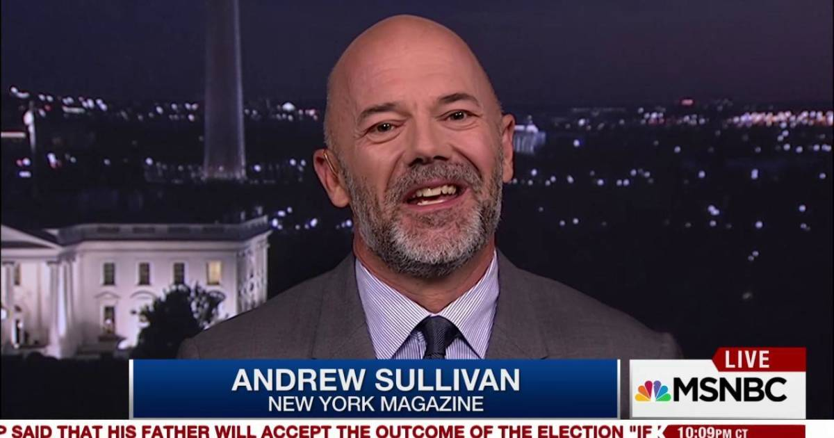 analysis of andrew sullivans article let gays Breaking news and analysis on all the latest tv, movies, music, books, theater, and art the cut get the latest fashion, beauty, and shopping news and recommendations.
