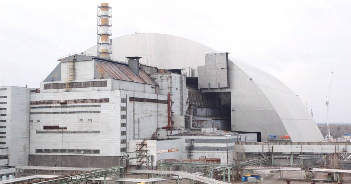 Chernobyl Nuclear Exclusion Zone Sealed Off With Massive Arch