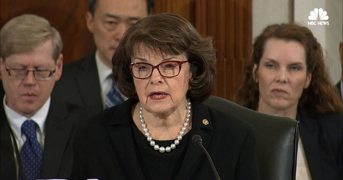 Feinstein Questions Sessions On Abortion Civil Rights Record