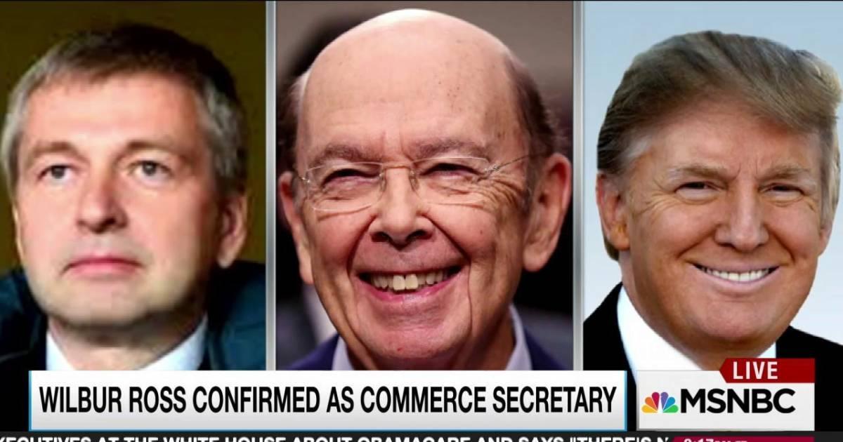 New Commerce Secretary at nexus of lucrative Trump Russian ...