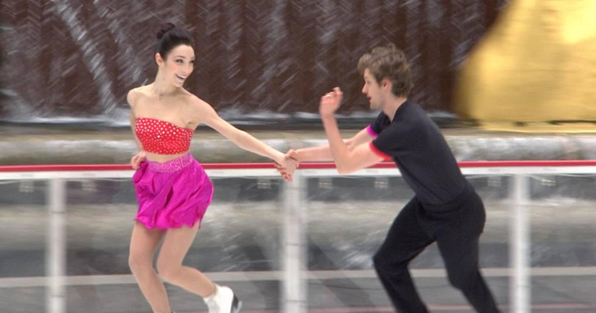 See Olympic Ice Dancers Meryl Davis And Charlie White