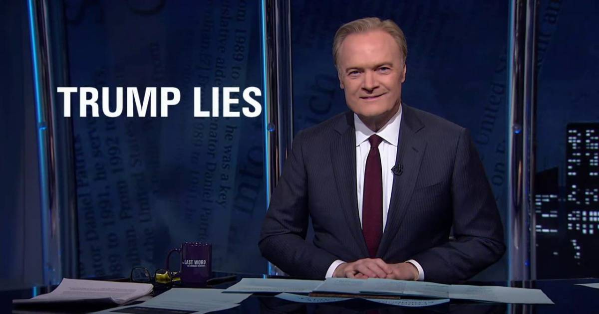 Lawrence on Trump lies, big and small
