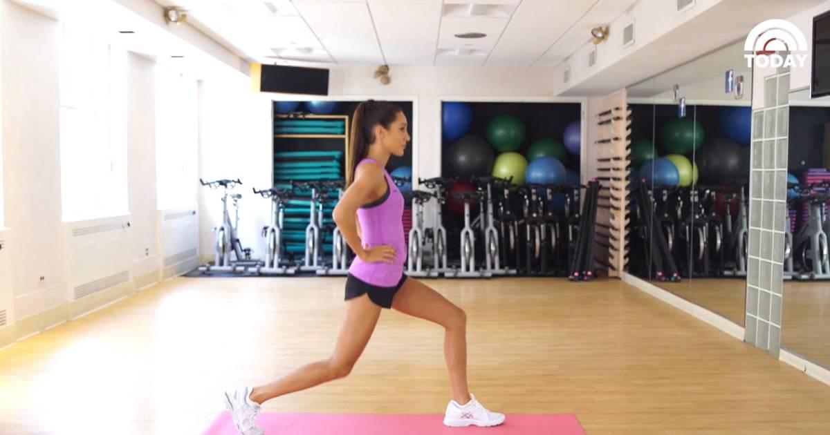 Kayla Itsines 7-minute workout