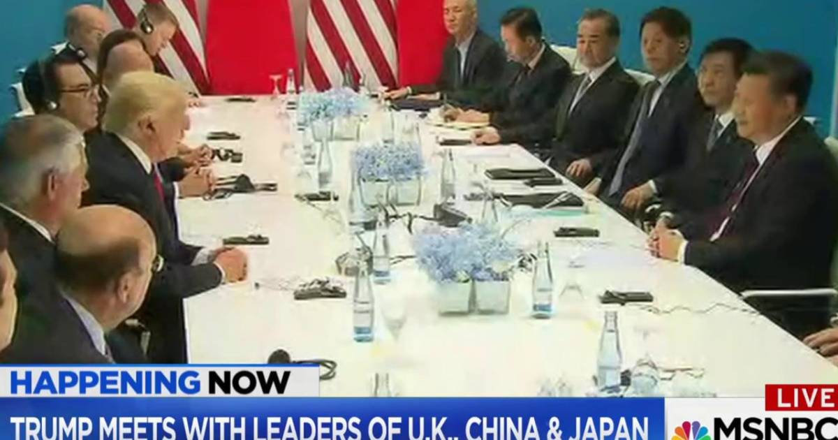 MSNBC reports on the end of G-20 Hamburg