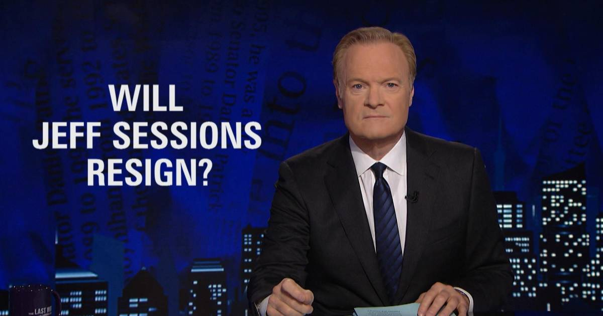 Lawrence: Sessions will be a witness against Trump