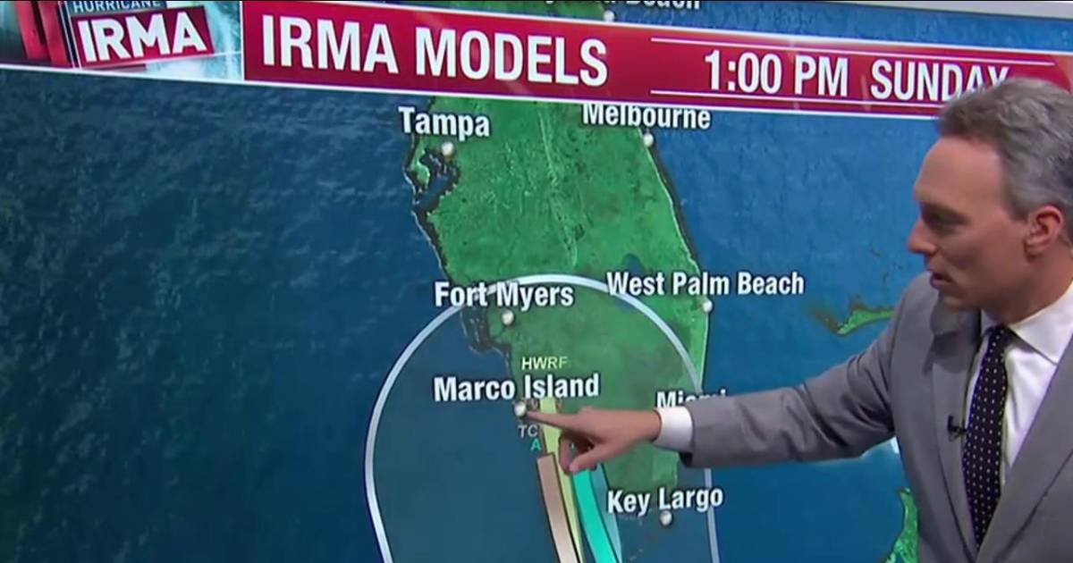 Marco Island, Naples Could Face Direct Hit from Irma
