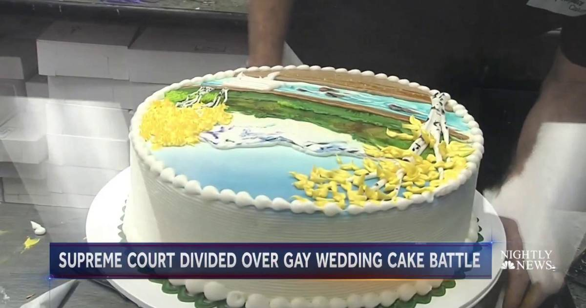 supreme court bakery wedding cake supreme court hears why baker refused to make wedding cake 20644