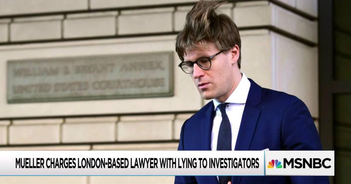 Americans google Alex van der Zwaan as Mueller issues new ...