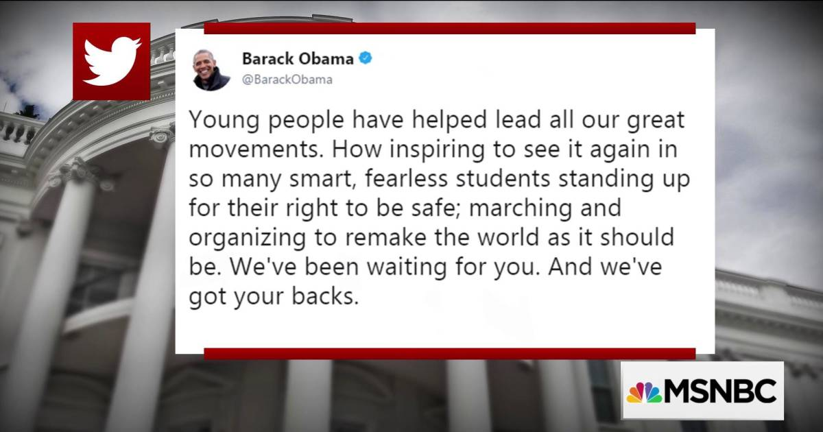 """Pres. Obama to student activists: """"We've been waiting for you"""""""