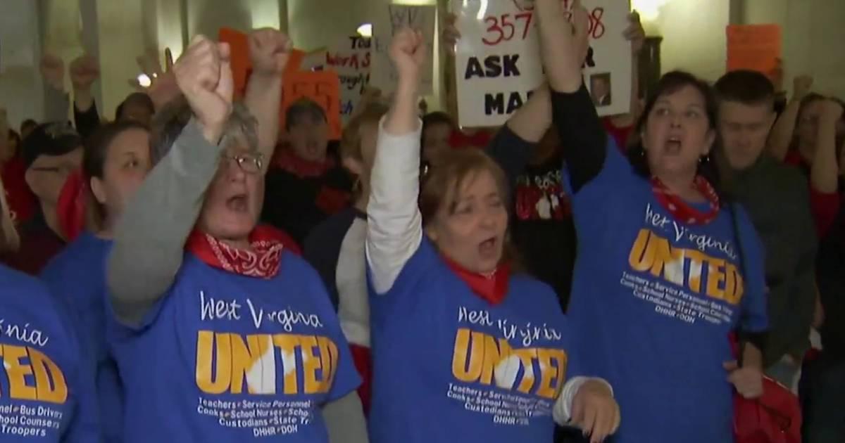 West Virginia teachers on strike for seventh day
