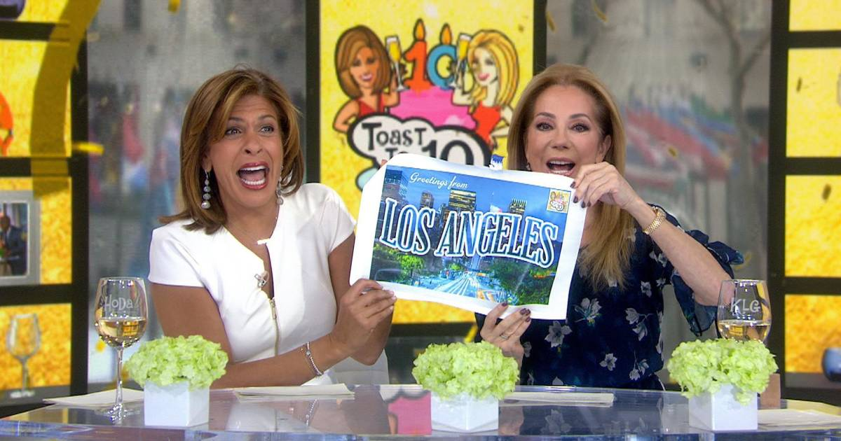 kathie lee and hoda are sending a lucky kathie lee and hoda are sending a lucky viewer to los angeles