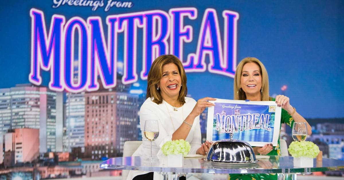 kathie lee and hoda are sending a lucky kathie lee and hoda are sending a lucky viewer to montreal