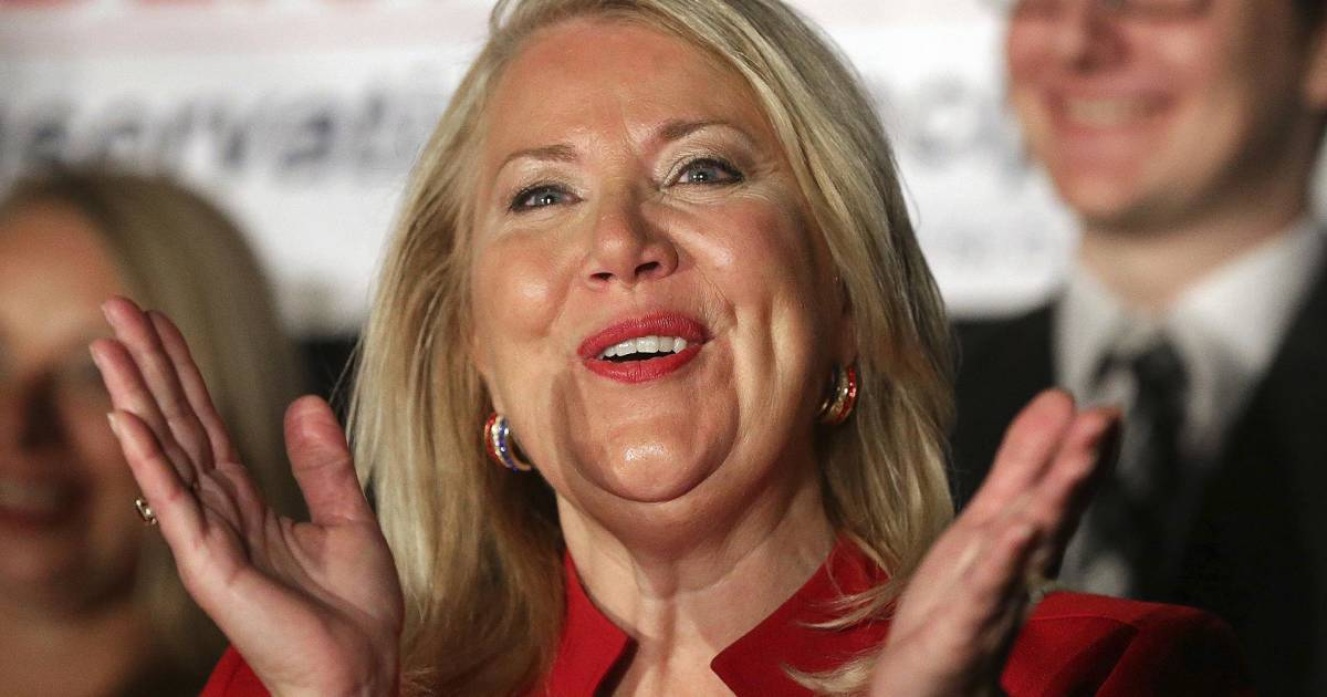Republican Debbie Lesko celebrates apparent Arizona special election win