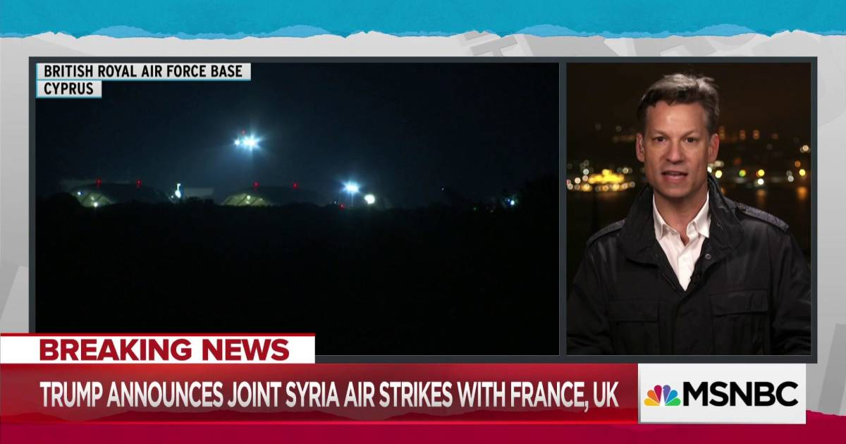 Trump Leaves Open Question Of Further Us Action In Syria