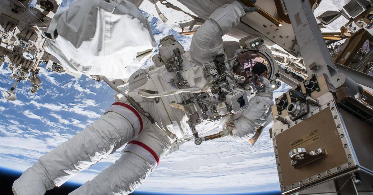 Watch Live: NASA astronauts spacewalk outside International Space Station