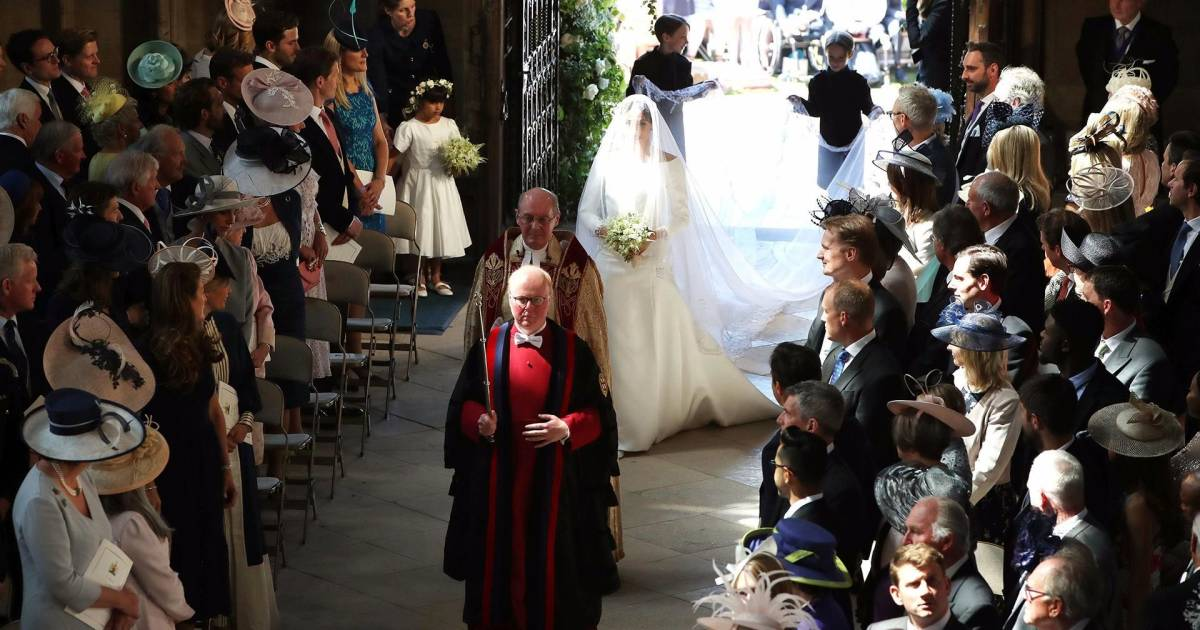 Royal Wedding: See Meghan Markle Walk Down The Aisle