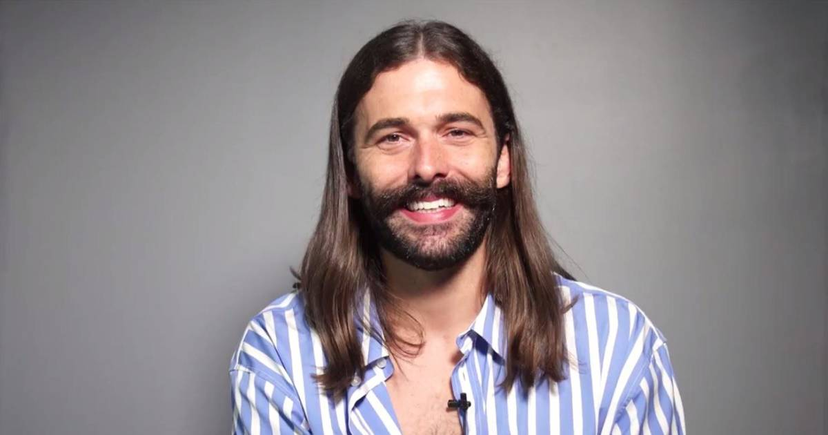 queer eye star jonathan van ness has 1 piece of advice for his younger self. Black Bedroom Furniture Sets. Home Design Ideas