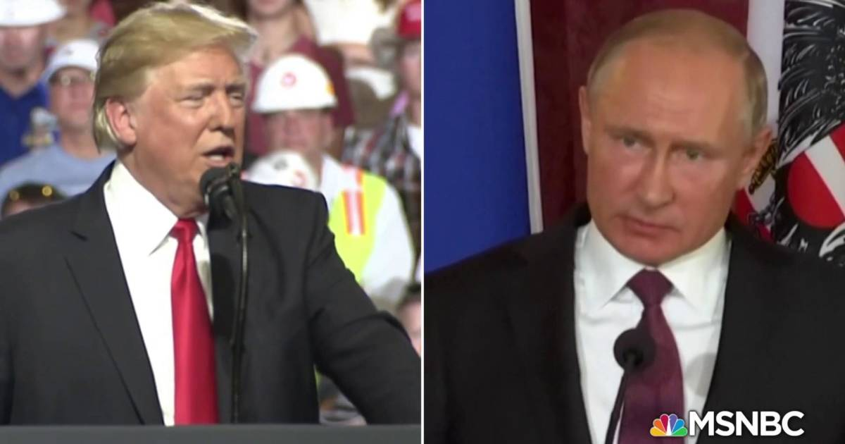 Trump- Putin meeting overshadowed by new indictments of Russians