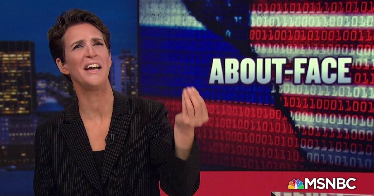 msnbc.com - Trump camp changed strategy after Russians stole DNC analytics