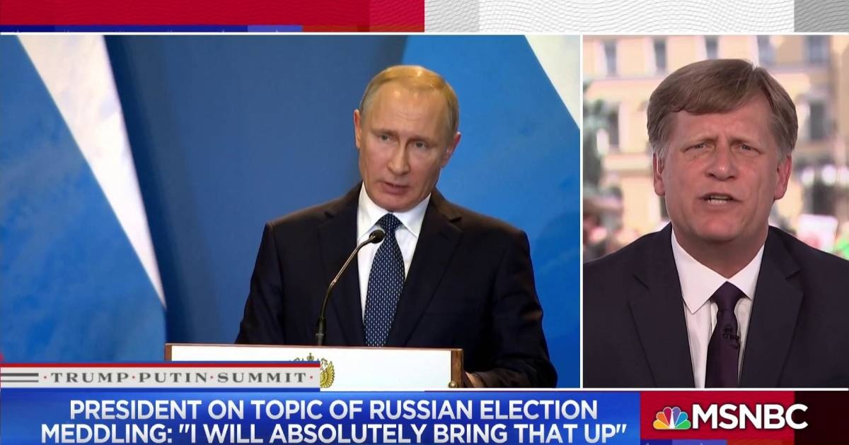 "Fmr. Amb. to Russia: Trump, Putin meeting ""a bad idea…a mistake"""