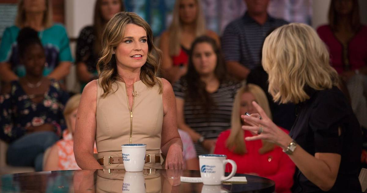 savannah guthrie joins megyn kelly today to discuss the